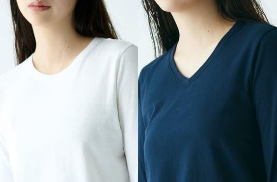 無印良品 オーガニックコットンTシャツ
